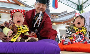 'Baby-Cry Sumo' Takes Place In Hiroshima